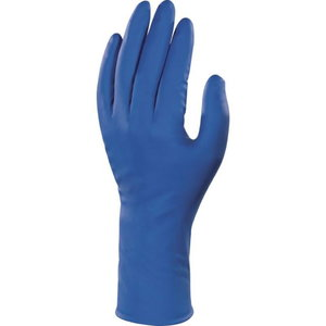 disposable gloves Veniplus 1383 Latex 50pcs Blue, Delta Plus