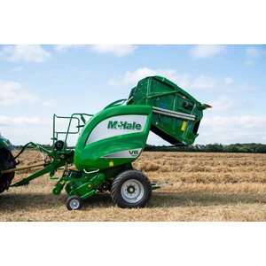 Variable Chamber Round Baler V6750, Mchale