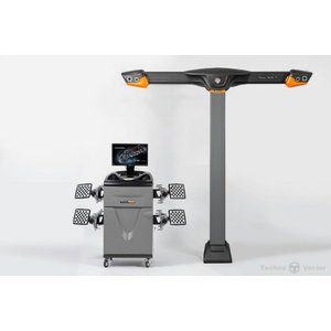 3D ratų suvedimo stendas  7 V7204TA, Techno Vector