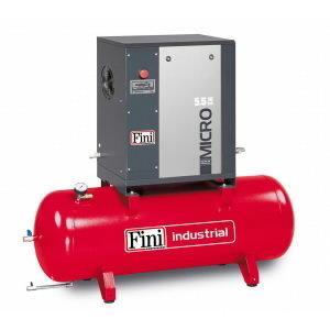 Scrw compressor Micro 5.5-10-270 (IE3), Fini
