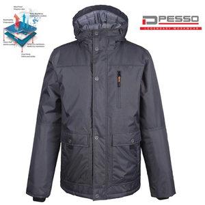 Winter Jacket Vancouver, grey 2XL, Pesso