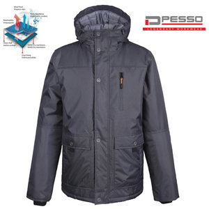 Winter Jacket Vancouver, grey 2XL, Pesso