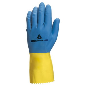 GLOVE DUOCOLOR 330 LATEX CLEANING 9,5, Delta Plus