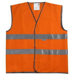 TRAFFIC WAISTCOAT ORANGE size 2XL