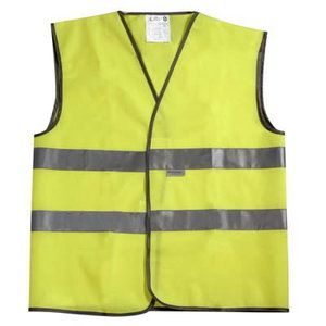 TRAFFIC WAISTCOAT YELLOW 3XL