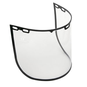 Visor clear polycarbonate, universal fixing, Delta Plus
