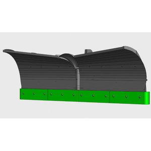 Snow plough V-type 3300mm POME for JCB 3CX/4CX, Pomemet