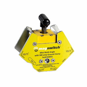 Magnetic ground clamp Mini Multi Angle 87x89x42mm 300A, Lincoln Electric