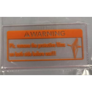 Vidinis stikliukas šalmui Eurospeed LS  (2vnt/pack)