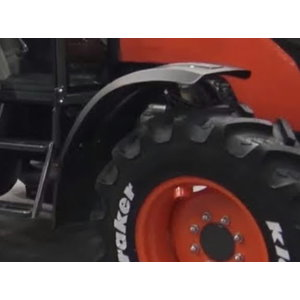 Front Fenders blades* - 310mm wide - to suit std Ag tyres M6060/7060, Kubota