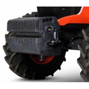 Front weights 10x45 kg for M4002 ja M5001 series, Kubota