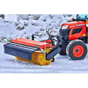 Front sweeper, 1,20 m, front-mounted A-frame, Kubota