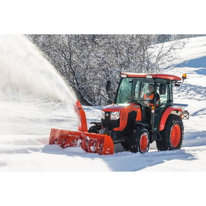 Snow blower for A-frame, working width 1.55 m, Kubota