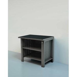 Workbench with open shelf 1M, Keen Space