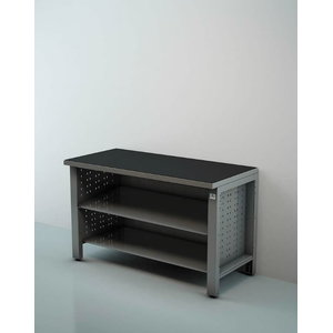 Workstation with open shelf 1,5M, Keen Space