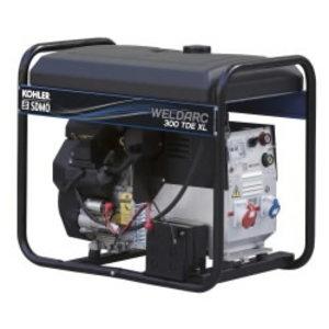 Suvirinimo generatorius WELDARC 300 TDE XL C, SDMO