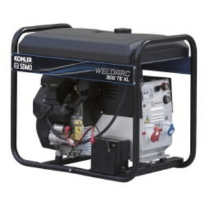 Metināšanas ģenerators WELDARC 300 TE XL C, SDMO