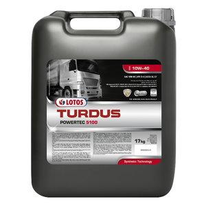 Sunkiosios technikos alyva TURDUS POWERTEC 5100 10W40, Lotos Oil