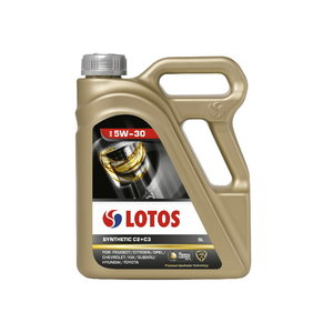 Mootoriõli LOTOS SYNTHETIC C2+C3 5W30 5L, Lotos Oil