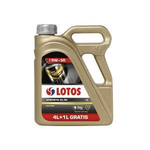 Motoreļļa LOTOS SYNTHETIC A5/B5 5W30 4+1L, , Lotos Oil