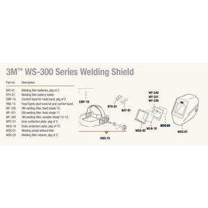 Kaitseklaas, sisemine WS-340, Speedglas 3M