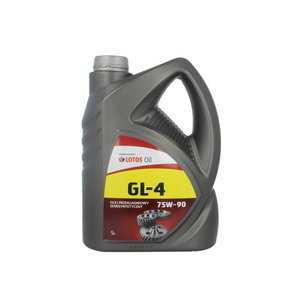 Transmisijos alyva GEAR OIL GL-4 75W90 5L, , Lotos Oil