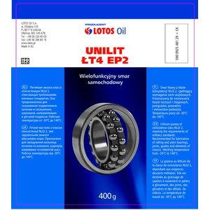 Plastinis tepalas UNILIT LT-4 EP-00 17kg, Lotos Oil