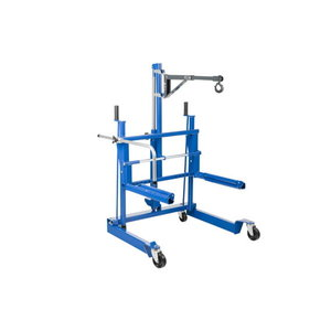 Wheel trolley for vans, trucks and buses WTA500, AC-Hydraulic