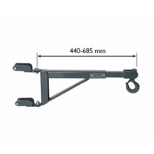 Kraana lisakäpp WTK500 rattakärule, AC-Hydraulic