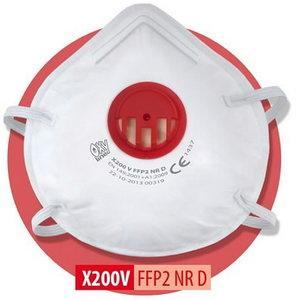 Respiraator Oxyline NR D, klapiga FFP2