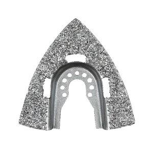 Multitool blade, triangular rasp. Carbide, Black+Decker
