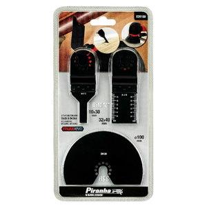 Multitool blade set, 3-pcs, Black+Decker