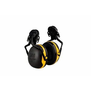 Kõrvaklapid kiivrikinnitusega plastikust X2P5E, X-seeria, 3M