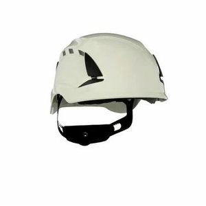 Apsauginis šalmas SecureFit, ventiliuojamas, baltas X5501V-C, 3M