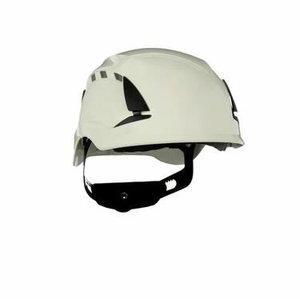SecureFit™ aizsargķivere, ar ventilāciju, balta, 3M