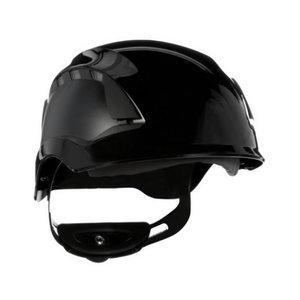 SecureFit™ aizsargķivere, ar ventilāciju, black X5512V_CE, 3M