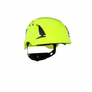 SecureFit™ Safety Helmet, Vented, HVgreen, 3M
