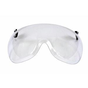 Näovisiir, lühike, polükarbonaat, AS/AF, läbipaistev X5-SV01, 3M