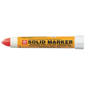 Marķieris SOLID LOW TEMPERATURE sarkans