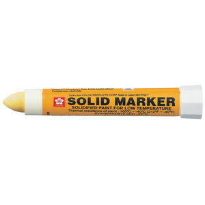 Marķieris SOLID LOW TEMPERATURE dzeltenā krāsā, Sakura