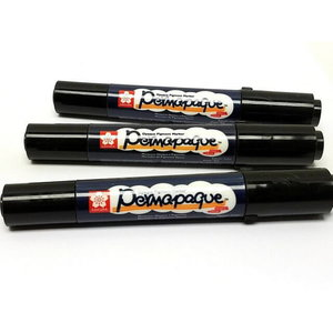Marker black 1,2/5,5mm PERMAPAQUE, Sakura