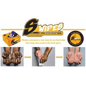 S-Wipes kätepuhastuslapid 336tk karbis, Winntec