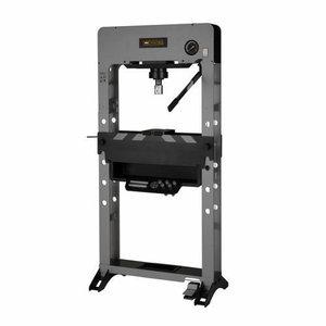 Hydraulic press 50T Movable cylinder manual/pneumatic pump, Winntec