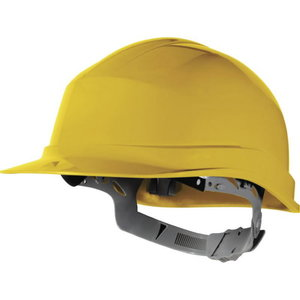Safety helmet Zircon Yelllow manual adjustment, Delta Plus