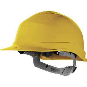 Safety helmet, manual adjustment, Yelllow, Delta Plus