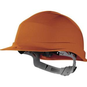 Helmet, orange, Delta Plus
