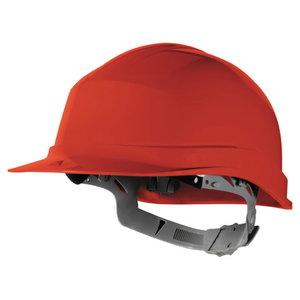 Apsauginis šalmas ZIRCON, reguliuojamas, raudona, Delta Plus