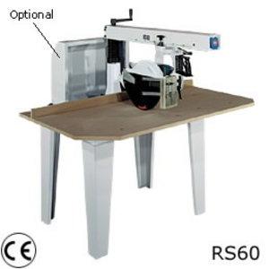 """MANUAL RADIAL ARM SAW """"RS40"""" – Three-phase motor, Stromab"""