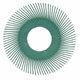 BB-ZB Bristle šepečių papildymas T-C tipo 150mm P50 žalias, 3M