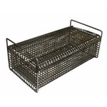Rectangular basket for small metal parts, galvanized, Sme